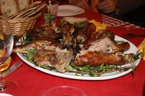 La locanda del Sardo: Ottimo maialino