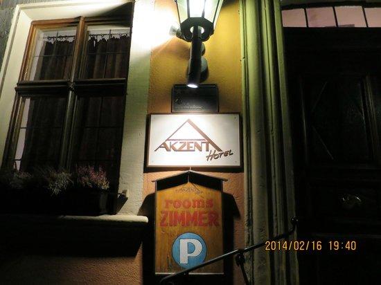 AKZENT Hotel Schranne: エントランス
