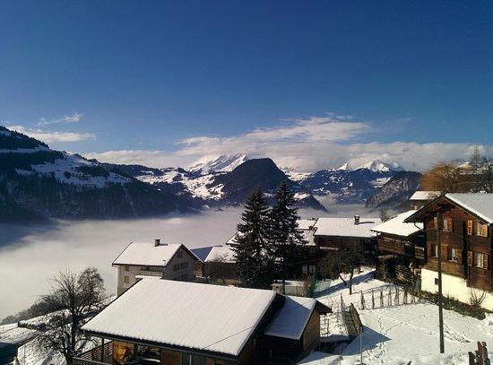 Gasthaus Alpina: sun terrace