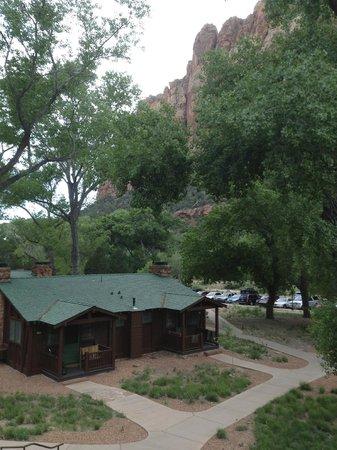Zion Lodge: Le logis