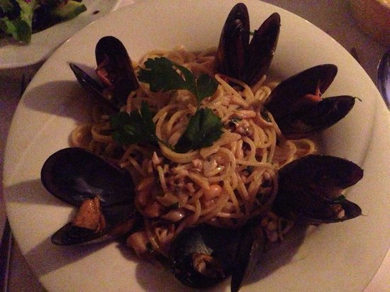 La Locanda: Seafood pasta. Wasn't in the menu but just asked for it. So good!