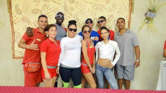 Paradisus Varadero Resort & Spa: Entertainment Staff at 13th Anniversary Party