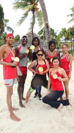 Paradisus Varadero Resort & Spa: Even a Cuban Volleyball Champion at the party!