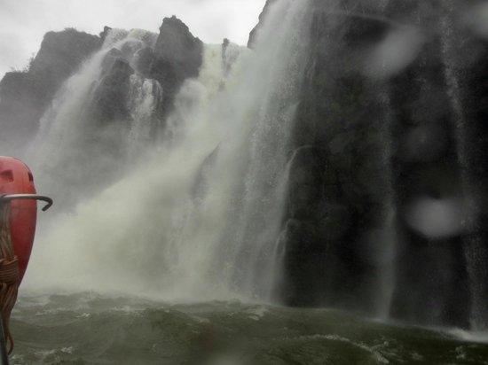Macuco Safari : Banho gelado.