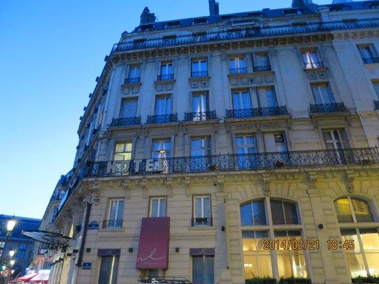 Normandy Hotel: ホテル外観