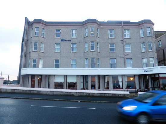 Bay Beresford Hotel : One side of the Beresford