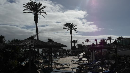SBH Club Paraiso Playa: mostly there was cloudy