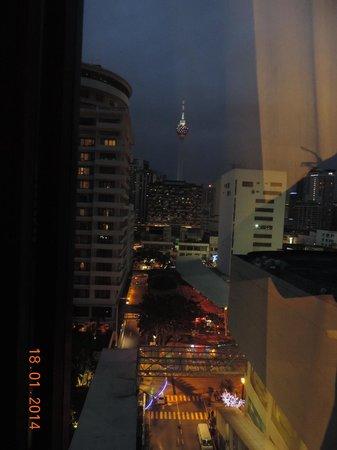 Melia Kuala Lumpur: vue de la chambre