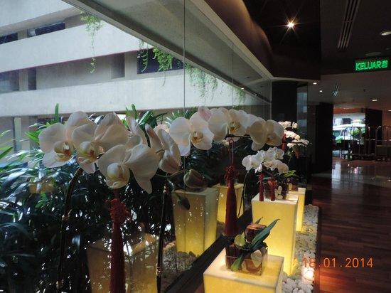 Melia Kuala Lumpur: A l'entree du restaurant