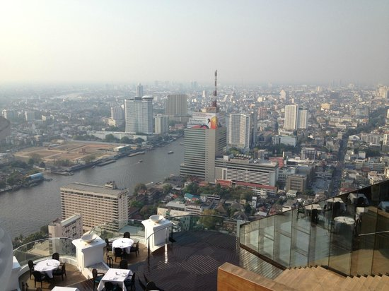 Tower Club at Lebua: View from towerclub suite