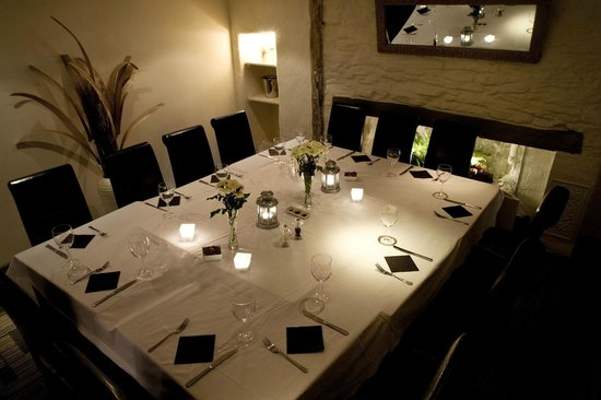 Bayards Cove Inn Restaurant Dartmouth: Private dining room available
