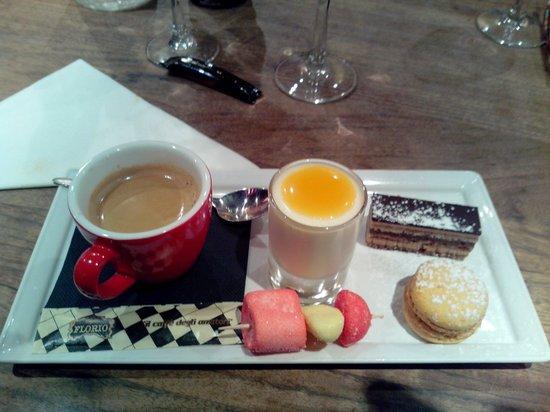 La Boussole : Café gourmand