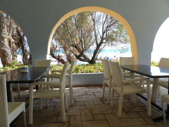 Louis Zante Beach : Beach bar.