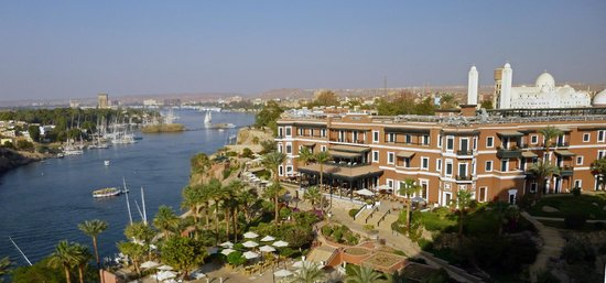 Minamar Hotel: Old Cataract Hotel in Aswan