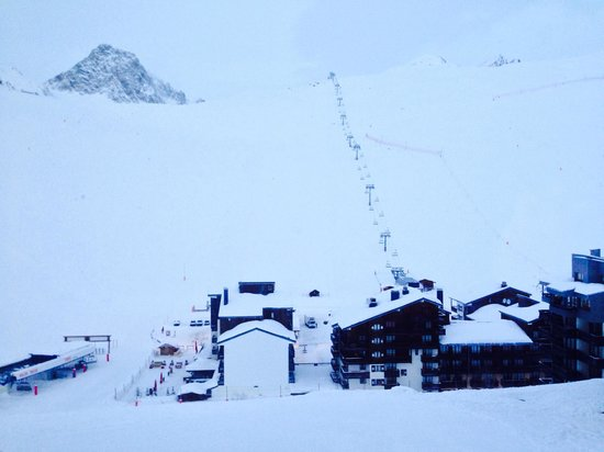 Club Med Tignes Val Claret : View from bedroom