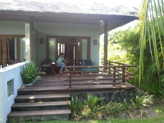 The Santosa Villas & Resort: Our villa is beside the pool. A lot of mosquitoes especially at evening & night