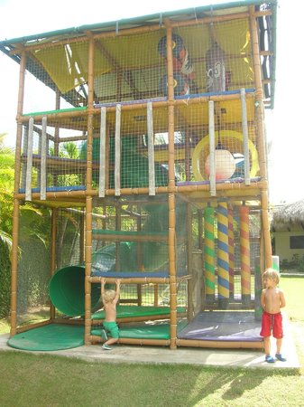 Paradisus Punta Cana Resort : juegos en el parque del kids zone