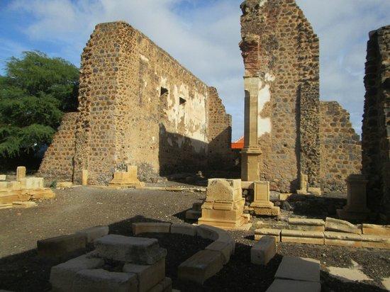 Cidade Velha, Cabo Verde: Cathedral ruins
