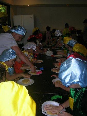 Paradisus Punta Cana Resort : cocinando en el kids