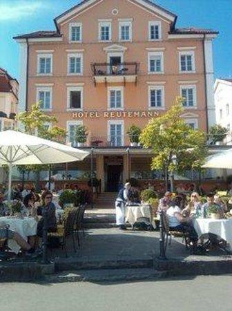 Hotel Reutemann und Seegarten: Hotelrestaurant Aussenansicht