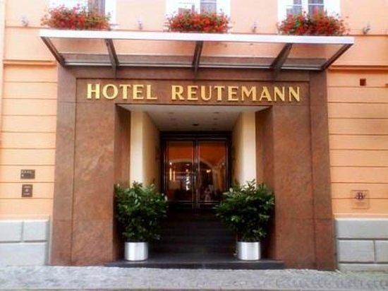 Hotel Reutemann und Seegarten: Hotel Eingang