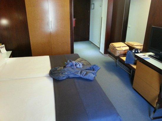 Hotel Silken Ramblas Barcelona: camera 406