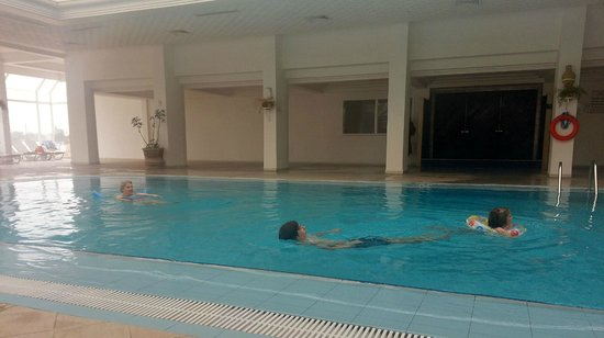 Seabel Rym Beach : piscine couverte