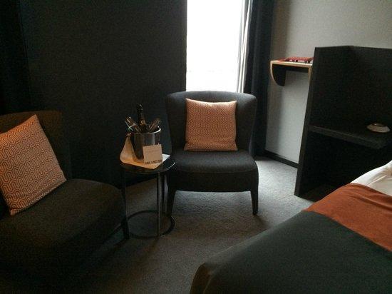 Clarion Hotel Post: Trevligt rum med helt underbara sängar!
