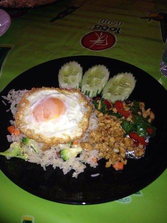 Orchid Residence Samui: Essen im Hotelrestaurant / Food