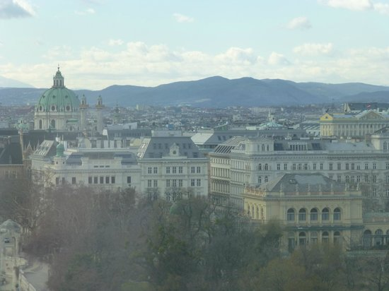 Hilton Vienna: View from room