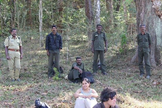Periyar Wildlife Sanctuary: Breakfast time