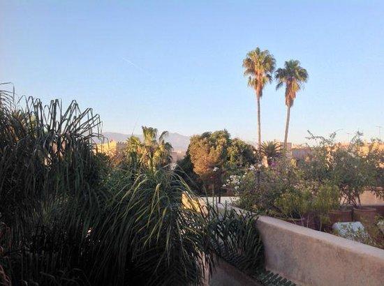 Palais Oumensour : View across Taroudant from roof terrace