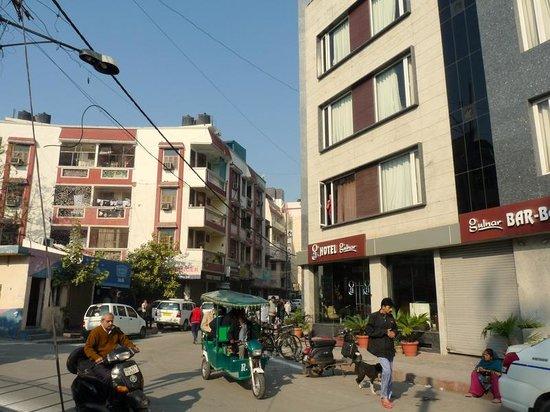 Hotel Gulnar: Hôtel Gulnar Delhi