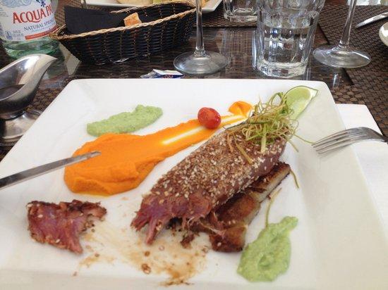 Palm Beach : Mi cuit thon (le tout était froid)