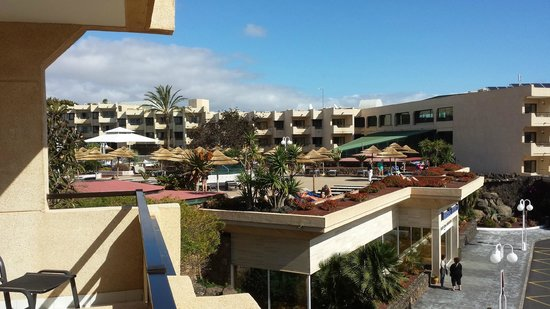 Occidental Lanzarote Mar : View from block 1