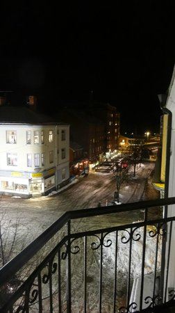Ludvika Stadshotell: Vy från balkongen