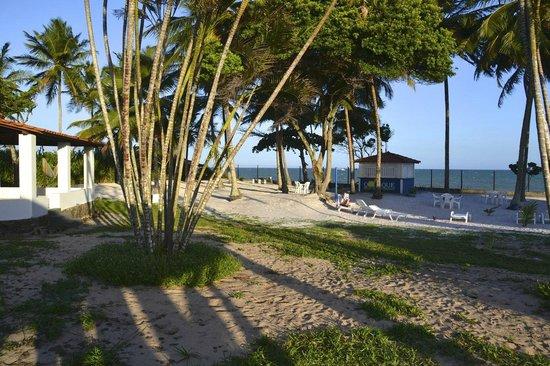 Alma Tropical Resort: Nossa PRAIA PARTICULAR EQUIPADA