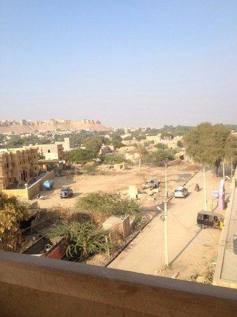 Hotel Fifu : Vue du restaurant hôtel Fifu, Jaisalmer
