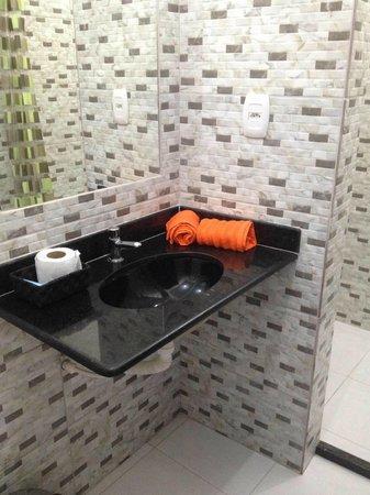 Alma Tropical Resort: acabamento do banheiro Todos são padrão