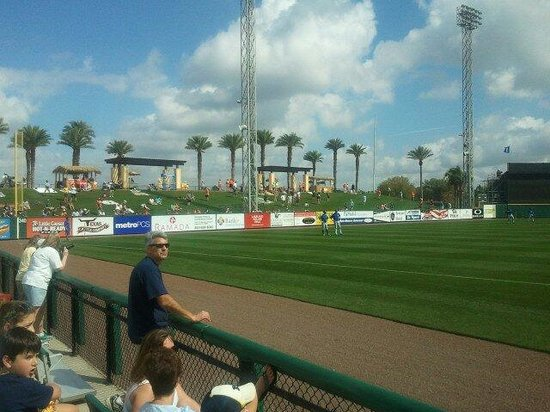 Joker Marchant Stadium: View from third base