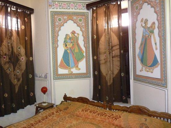 Hotel Heritage Mandawa : Chambre