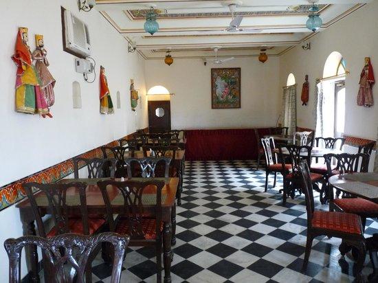 Hotel Heritage Mandawa : salle à manger