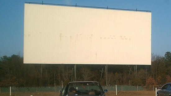 Vineland, Нью-Джерси: It's a big screen!