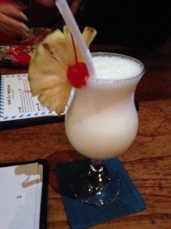 Seaside Restaurant Legian: Piña colada