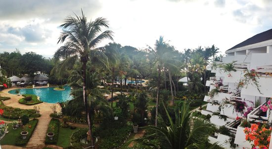 Thavorn Palm Beach Resort: the view from our room's balcony
