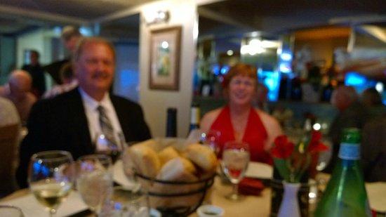 Ophelia's on the Bay: Steve & Gail