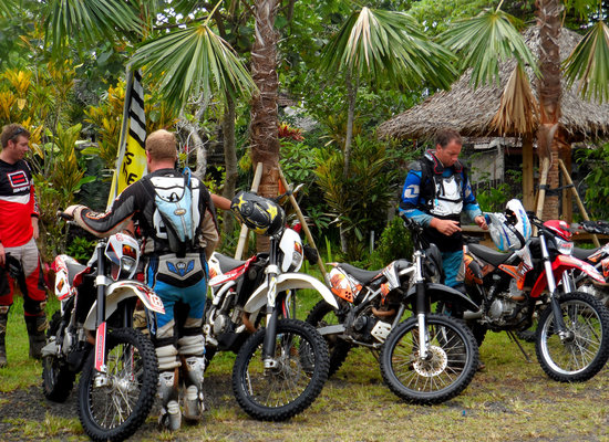 Bali Wilderness Dirt Bike - Day Tours: Gearing up mountain dirt bike tour Bali