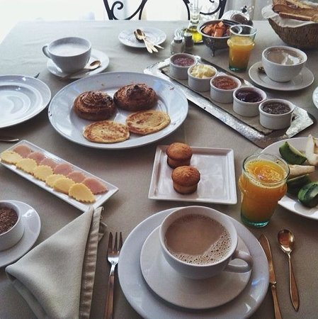 Riad Abracadabra: Amazing breakfast on the rooftop