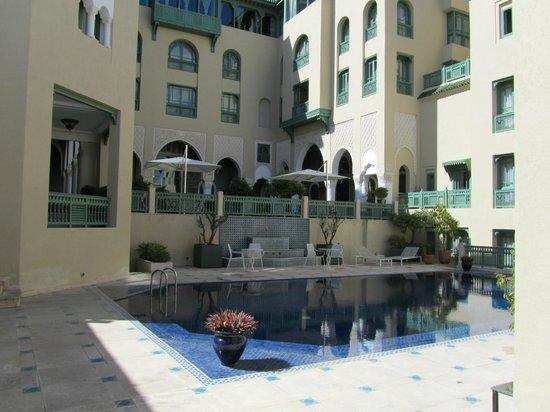 Palais Faraj Suites & Spa : Vue de l'hôtel depuis l'entrée de la suite 4