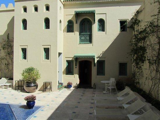 Palais Faraj Suites & Spa : Au rez de chaussée, l'entrée de la suite 4
